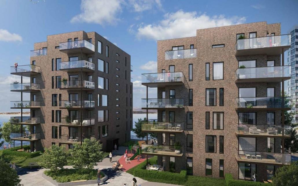 Klar for oppstart på 2 boligblokker: Lervigpynten D5 og D6